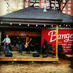 Photo taken at Banger's Sausage House & Beer Garden by Derek G. on 3/8/2013