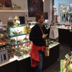 Photo taken at Godiva Chocolatier by Heather W. on 3/21/2015