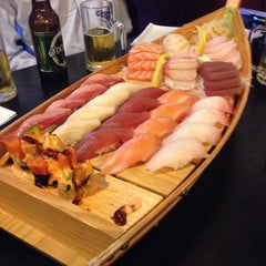 Photo taken at Tokyo Sushi by Jules F. on 6/10/2014