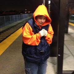 Photo taken at UTA FrontRunner Murray Station by Lauri C. on 11/17/2013