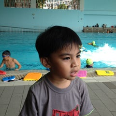 Photo taken at Sengkang Swimming Complex by Francis T. on 9/29/2013