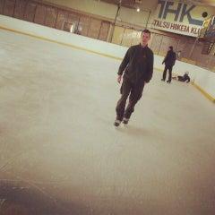 Photo taken at Talsu hokeja klubs (Talsi Ice Hockey club) by Anete K. on 3/23/2014
