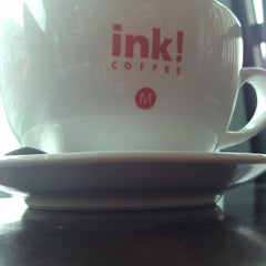 Photo taken at ink! Coffee by Caroline F. on 4/20/2013