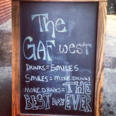Photo taken at The Gaf West by Andrew R. on 8/25/2013
