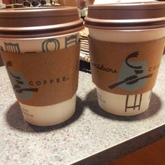 Photo taken at Caribou Coffee by Laurel M. on 11/1/2013