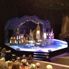 Photo taken at American Heartland Theatre by Ron H. on 12/8/2012