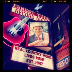 Photo taken at Ernest Tubb Record Shop by Nick P. on 6/14/2013
