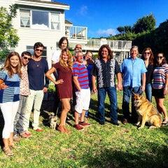 Photo taken at Malibu Beach, CA by Kent S. on 10/4/2015