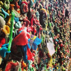 Photo taken at Gum Wall by Justin B. on 5/21/2013