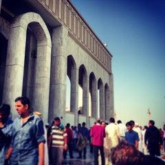 Photo taken at جامع أبي بكر الصديق by Mohsin A. on 1/25/2013