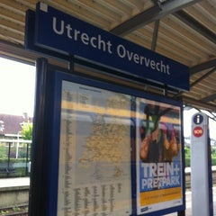 Photo taken at Station Utrecht Overvecht by Wouter T. on 7/13/2013