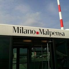 """Photo taken at Aeroporto di Milano Malpensa """"Città di Milano"""" (MXP) by Kayon C. on 9/25/2013"""