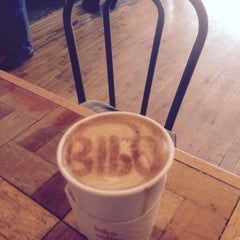 Photo taken at Bibo Coffee Company by Eddie R. on 3/26/2015