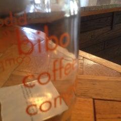 Photo taken at Bibo Coffee Company by Eddie R. on 9/3/2014