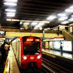 Photo taken at Metro Los Leones by Sean R. on 12/8/2012