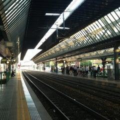 Photo taken at Stazione Milano Rogoredo by Roberto G. on 6/18/2013