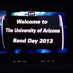 Photo taken at Arizona Stadium by Jeff C. on 10/27/2013