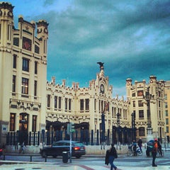 Photo taken at Estació del Nord by Emilio J. P. on 10/26/2012