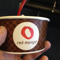 Photo taken at Red Mango by Fred L. on 3/4/2012