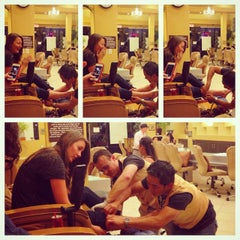 Photo taken at Illusions Nail Spa by Martha on 9/24/2014
