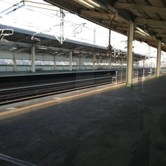 Photo taken at 新白河駅 1番線ホーム by nob k. on 1/6/2013
