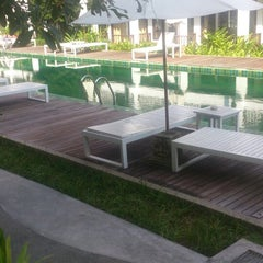 Photo taken at Maryoosamui Hotel by Elena on 2/14/2014