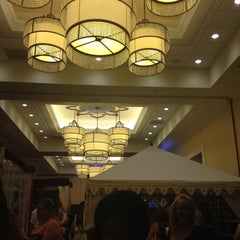 Photo taken at Marriot Crystal Ballroom by Kayla E. on 8/4/2013