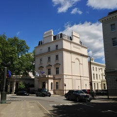Photo taken at Finnish Embassy by Sam E. on 6/3/2013
