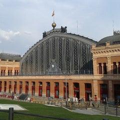 Photo taken at Estación de Madrid-Puerta de Atocha by Adolfo S. on 7/11/2013