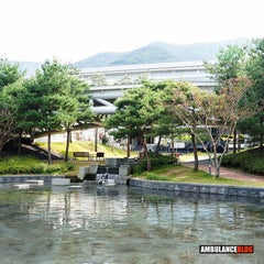Photo taken at 대구시립미술관 (Daegu Art Museum) by Seth a. on 10/27/2015