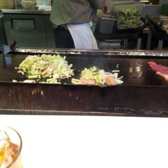 Photo taken at Fuji Teppanyaki Restaurant by Adrian P. on 11/1/2012