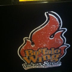 Photo taken at Buffalo Wing Factory by Tanner W. on 6/2/2013