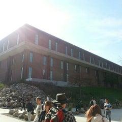 Photo taken at Eastern Michigan University by Samuel C. on 10/24/2012