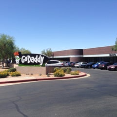 Photo taken at GoDaddy HQ by Chris L. on 5/22/2014