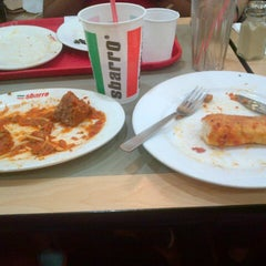 Photo taken at Sbarro by Ron D. on 5/30/2013