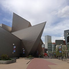 Photo taken at Denver Art Museum by Gibran M. on 5/18/2013
