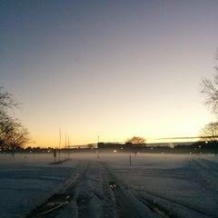 Photo taken at Lake Taylor Soccer Field by Sean A. on 1/31/2014