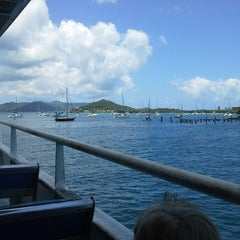 Photo taken at St. Thomas - St. John Ferry by Beau M. on 7/13/2013