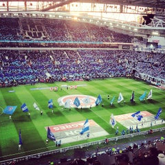 Photo taken at Estádio do Dragão by Pedro P. on 5/11/2013