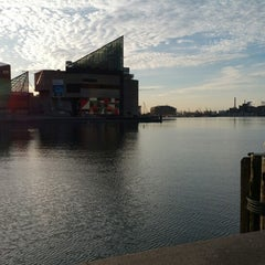 Photo taken at Inner Harbor Paddle Boat Dock by Ben R. on 4/15/2015