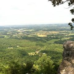 Photo taken at House Mountain Overlook by Manika J. on 6/15/2013