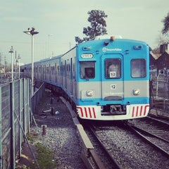 Photo taken at Estación Merlo [Línea Sarmiento] by Juana S. on 7/11/2013