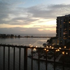 Photo taken at Brickell Place Marina by Dan A. on 12/10/2012