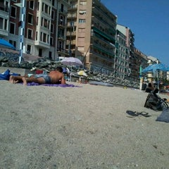 Photo taken at Spiaggia delle Fornaci by Valentina P. on 8/23/2013