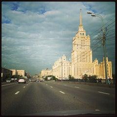 Photo taken at Кутузовский проспект by Olga B. on 6/14/2013