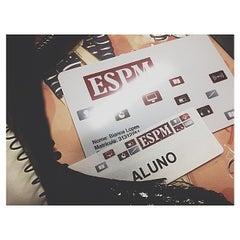 Photo taken at Escola Superior de Propaganda e Marketing (ESPM) by Bia L. on 6/5/2013