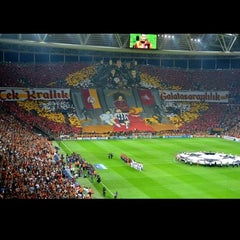 Photo taken at Türk Telekom Arena by Gökhan G. on 9/17/2013