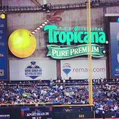 Photo taken at Tropicana Field by Orlando P. on 10/9/2013