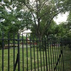 Photo taken at McCarren Park by Kathryn P. on 6/15/2013