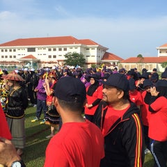 Photo taken at Institut Perakaunan Negara by Gula-gula H. on 10/17/2014